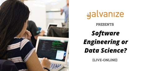 Software Engineering or Data Science? tickets