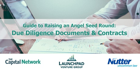 WEBINAR | Angel Seed Round Due Diligence Documents & Contracts tickets