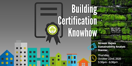 Building Certification Know-How tickets