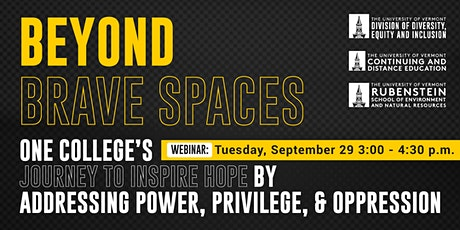 Beyond Brave Spaces: Conversations to Inform & Move to Action Together Pt.3 tickets