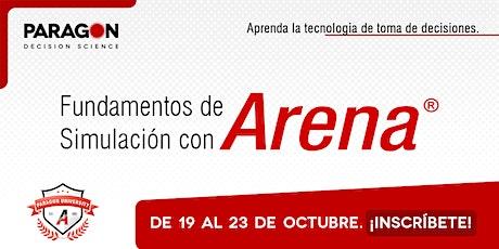 Entrenamiento Online Fundamentos de Simulación con Arena-19 al 23 Octubre boletos