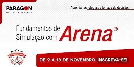 Treinamento Online: Fundamentos de Simulação com Arena- 9  a 13 de Novembro ingressos