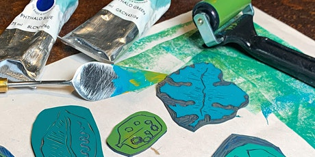 Lino Cut & Print Class - Socially Distanced - Hoylake Wirral tickets