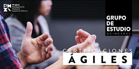 Certificaciones ágiles asociadas del PMI Capítulo México entradas