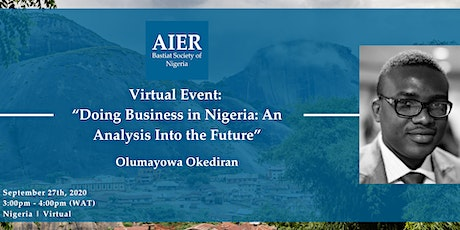 "Nigeria: Virtual Event: ""Doing Business in Nigeria"" tickets"