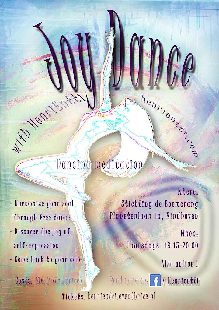 JoyDance / VreugdeDans - Meditatie image