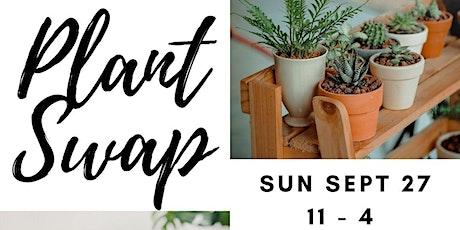 Outdoor Plant Swap tickets