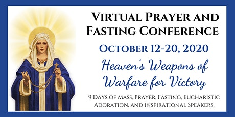 International Week of Prayer and Fasting - Virtual Conference tickets