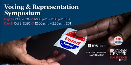 Voting and Representation Symposium: New Issues and Challenges tickets
