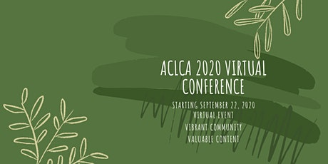 ACLCA 2020 Virtual Conference tickets