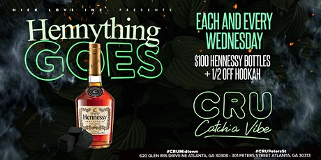Hennything Goes Wednesdays on Peters St tickets