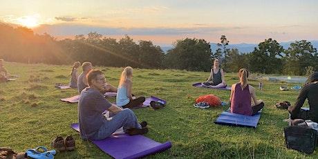 Sunset Mountaintop Yoga & Meditation Hike tickets
