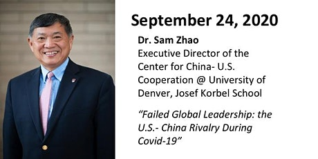 DCFR Online Event: Dr. Sam Zhao tickets