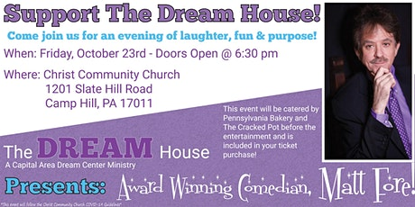 The Dream House Comedy Event tickets