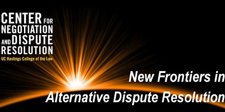 New Frontiers in ADR: John Lande: Combining  Mediation Approaches tickets