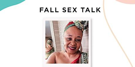 Fall Sex Talk tickets