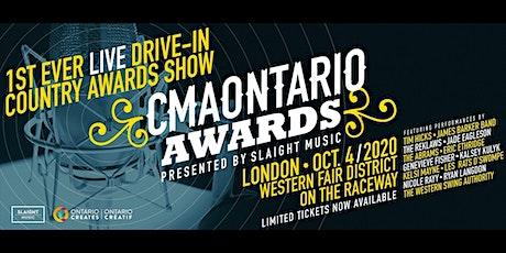 2020 CMAONTARIO AWARDS tickets