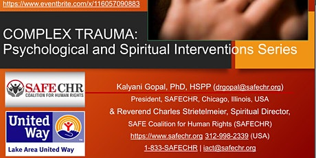 Complex Trauma Webseries - Psychological and Spiritual Interventions tickets