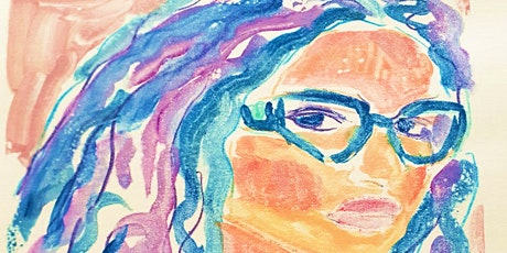 1-4PM Watercolor Monoprinting - Lori McLaughlin tickets