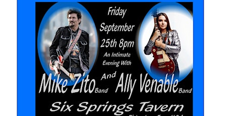 An Intimate Evening With Mike Zito Band and Ally Venable Band & Hula Haze tickets