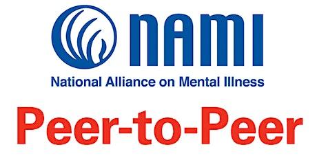 NAMI Peer-to-Peer tickets