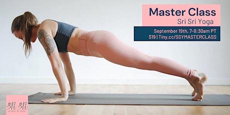 Sri Sri Yoga Master Class tickets