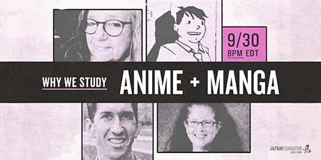 [EP1] Roundtable: Why Do We Study Anime and Manga? tickets