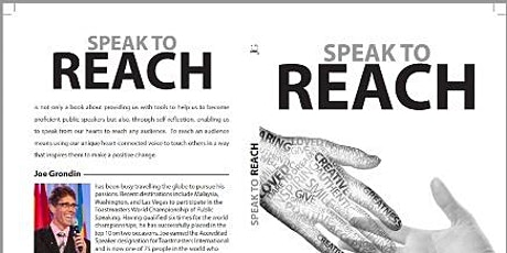Speak to Reach - Joe Grondin tickets