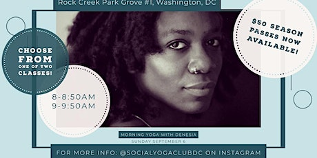 The Social Yoga Club DC - Yoga Series tickets