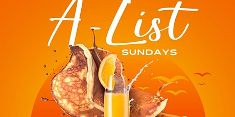 A-LIST ROOFTOP BRUNCH tickets