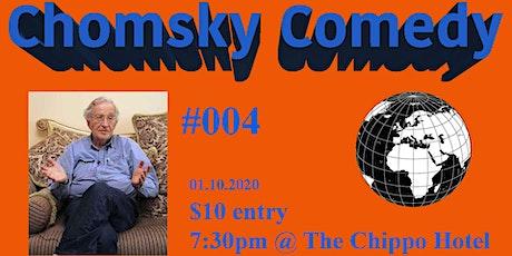 Chomsky Comedy 004: Jamie Kirk & Friends tickets