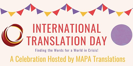 International Translation Day 2020 tickets