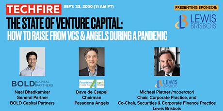 TechFire: The State of Venture Capital:  How to Raise from VCs & Angels tickets