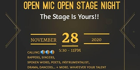 Open Mic and Open Stage Night tickets