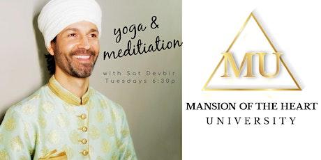 Yoga and Meditation with Sat Devbir tickets