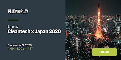 Cleantech x Japan 2020 tickets