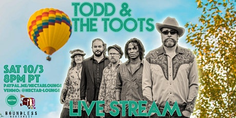 NVCS presents TOOD AND THE TOOTS (live stream) tickets