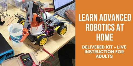 Build A Robotic Arm With Arduino And Raspberry Pi - Part 1 tickets