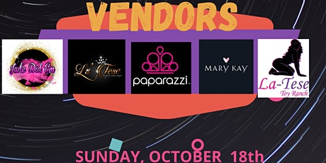Pamper, Sip & Shop tickets