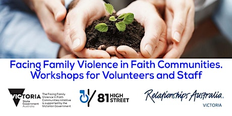 Facing Family Violence in Faith Communities Volunteers & Staff (Workshop 1) tickets