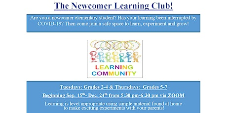 BNH: The Newcomer Learning Club! (Burnaby, BC) tickets