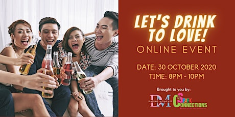 Let's Drink to Love! (Online Event) (50% OFF) tickets