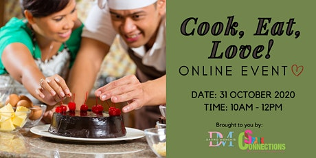 CALLING FOR GENTS! Cook, Eat, Love! (Online Event) (50% OFF) tickets