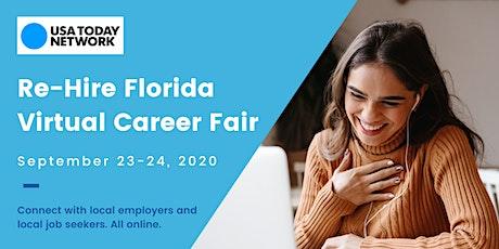 Re-Hire Florida Virtual Career Fair tickets