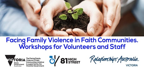 Facing Family Violence in Faith Communities Volunteers & Staff (Workshop 3) tickets