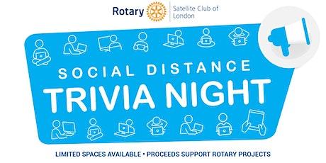 Social Distance Trivia Night - September 2020 tickets