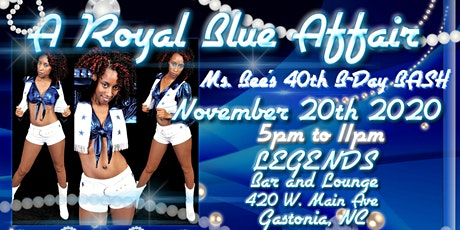 Ms. Bee's  Big Blue 40th Birthday Bash tickets