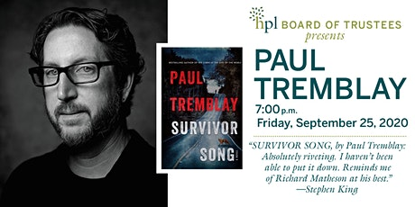A Conversation with Paul Tremblay tickets