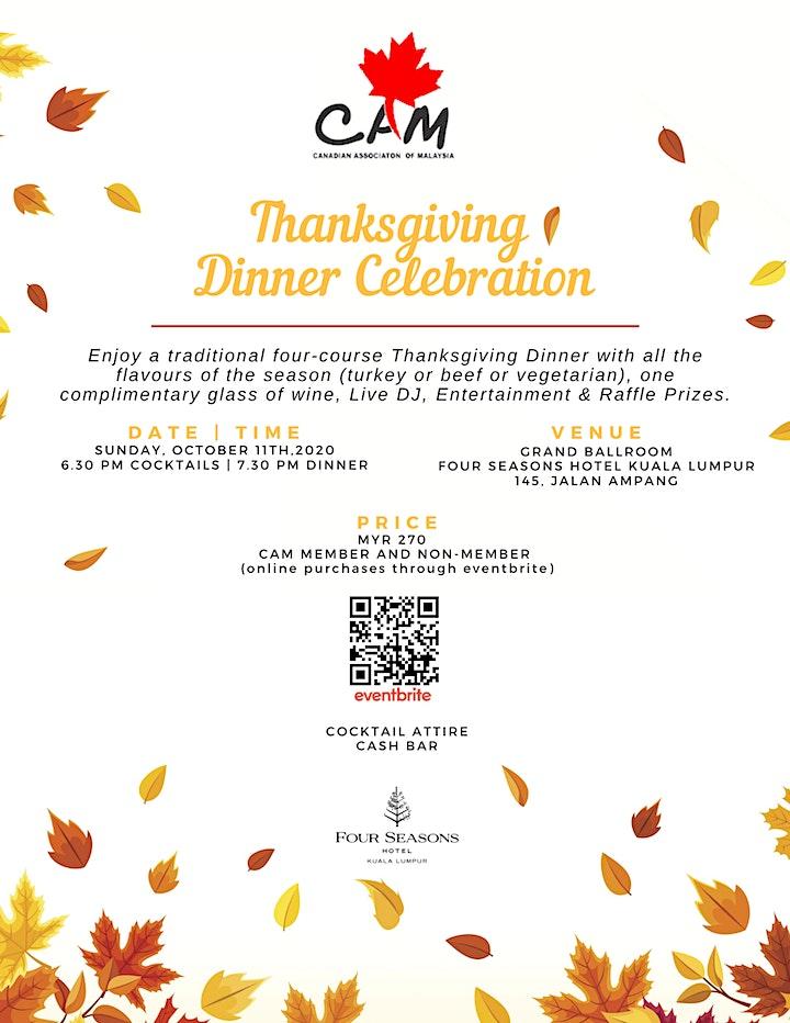CAM Thanksgiving Dinner Celebration image