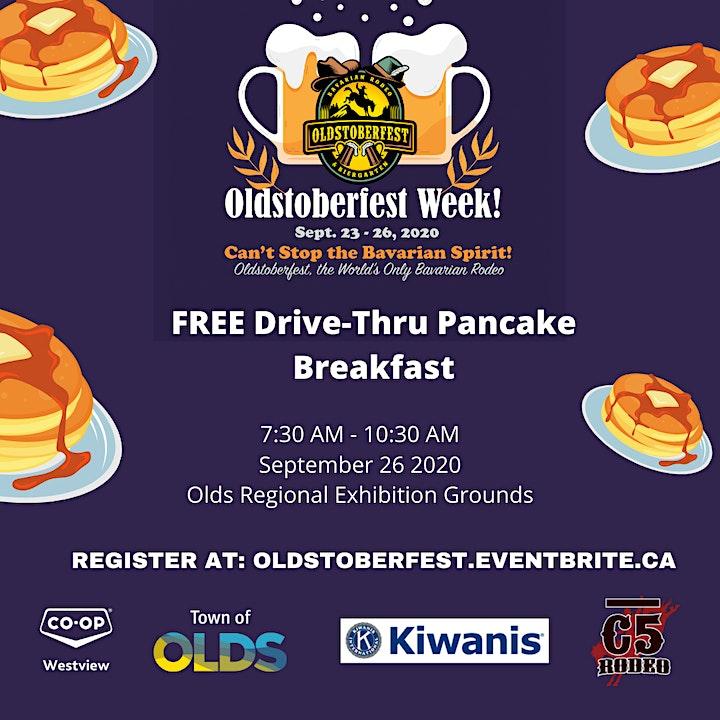 FREE Oldstoberfest Drive-Thru Pancake Breakfast image